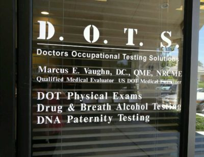 Doctors Occupational Testing Solutions - drug testing, alcohol testing, paternity testing